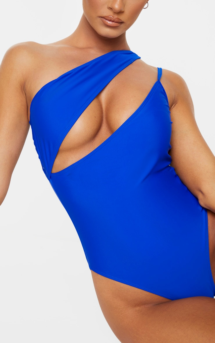 Cobalt Asymmetric Double Strap Swimsuit 6