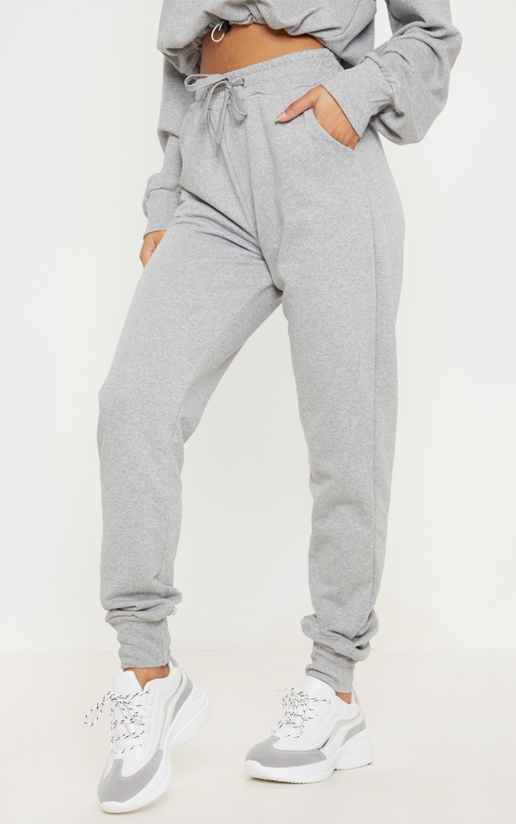 Grey Basic Gym Sweat Jogger 3