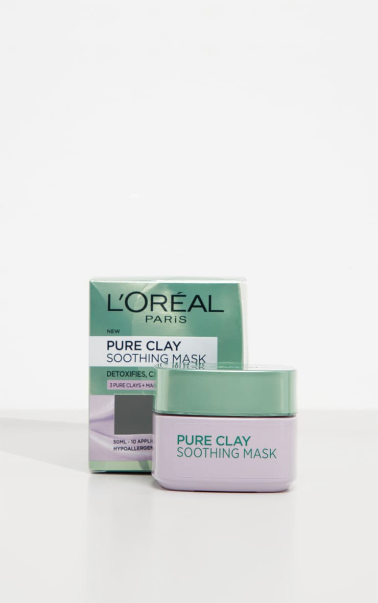 L'Oreal Paris Pure Clay Soothing Face Mask 50ml 3