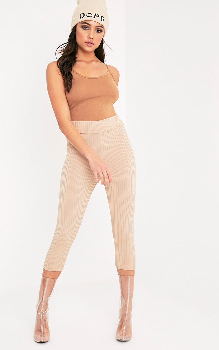 Basic Camel Bodysuit 6
