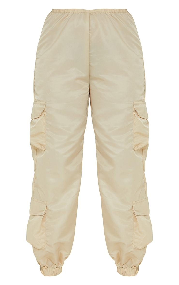 Petite Stone Dip Waist Cargo Trousers 5