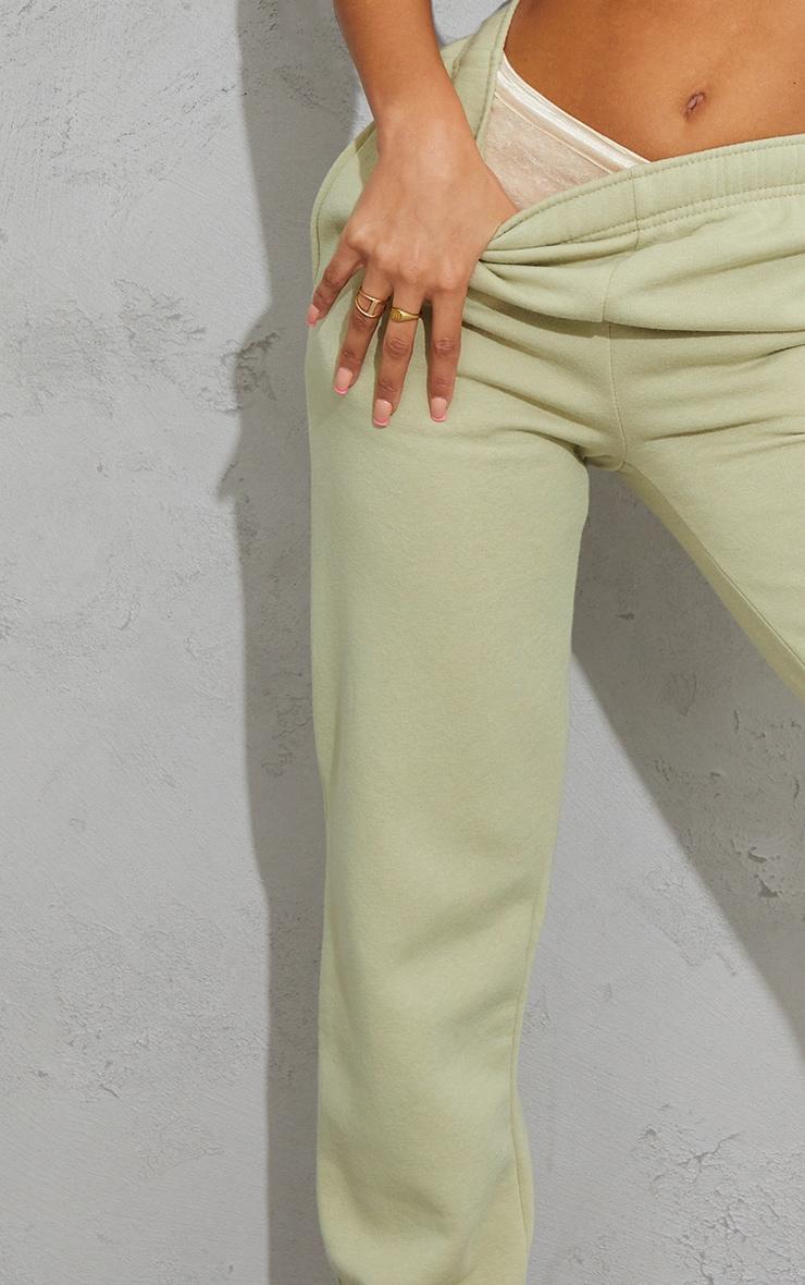 Pale Olive Sweat Pant Joggers 4