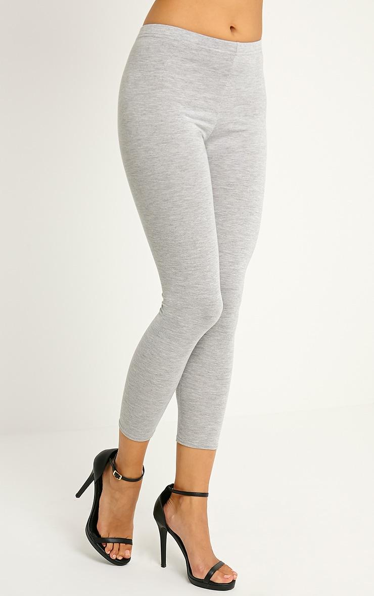 Basic Grey Leggings 4