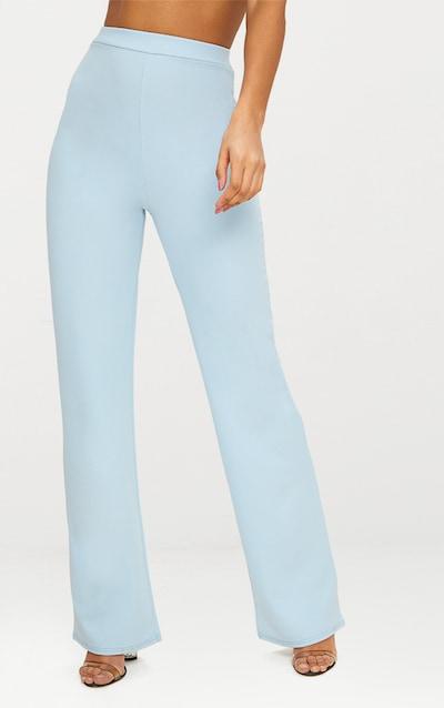 Blue Straight Leg Trouser