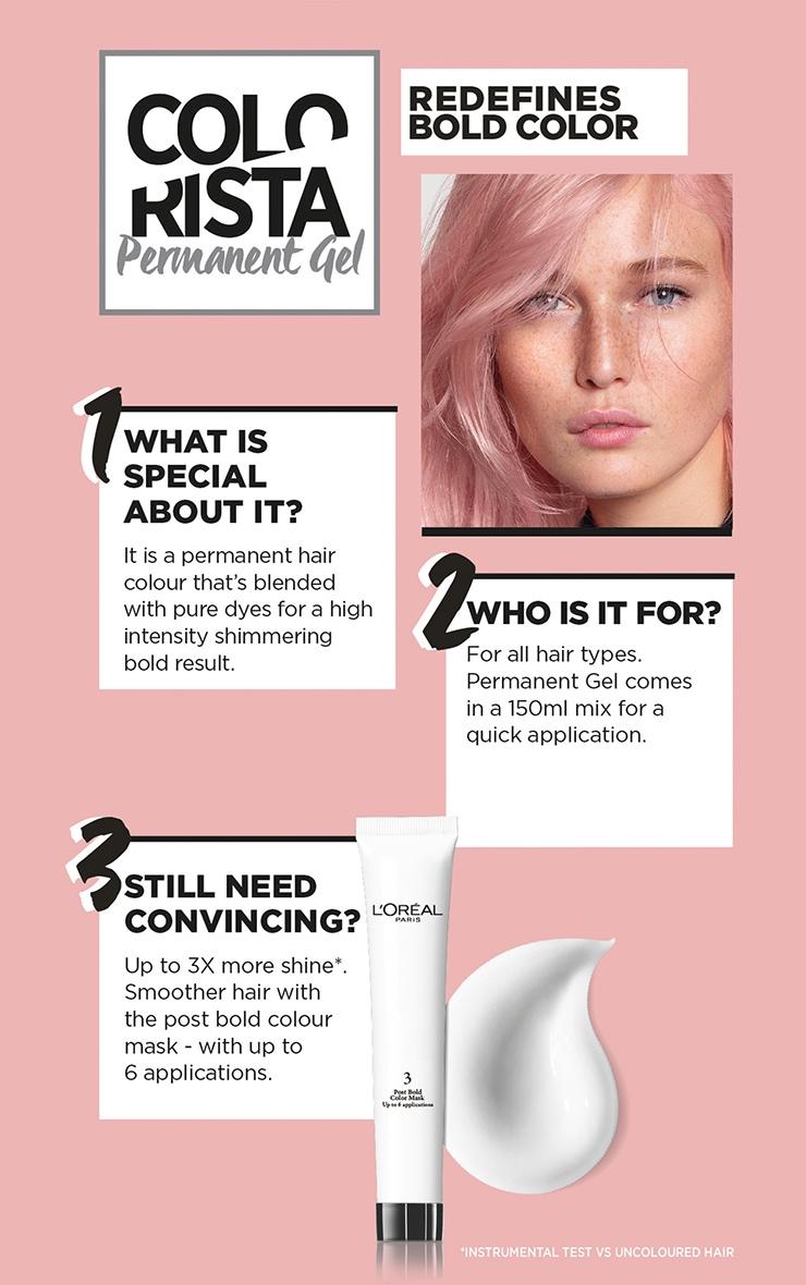 L'Oreal Colorista Rose Gold Hair Dye Long-Lasting Permanent Hair Colour 3