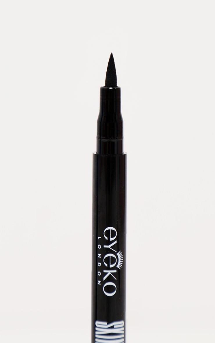 Eyeko Skinny Liquid Eyeliner Black 4