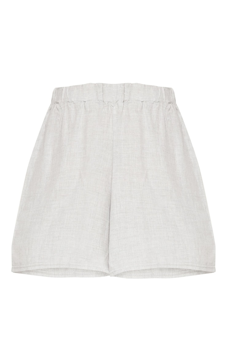 Pale Grey Lightweight Short 3
