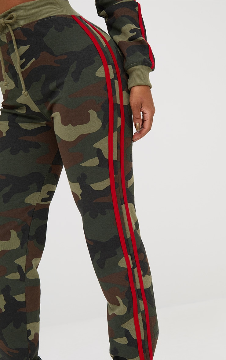 Shape Camo Side Stripe Joggers 5