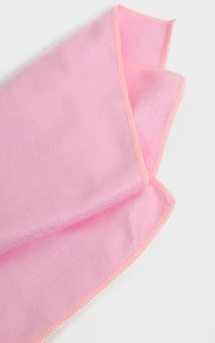 PRETTYLITTLETHING Pink Gym Sweat Towel 4