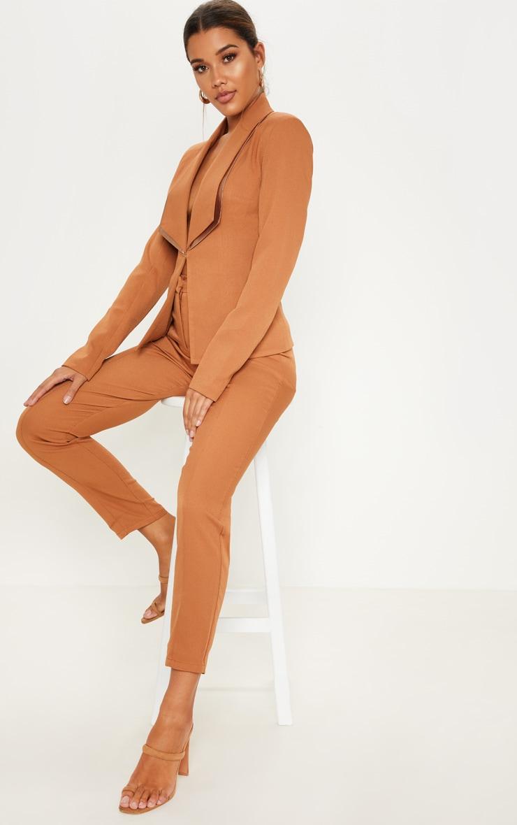 Camel Suit Trousers