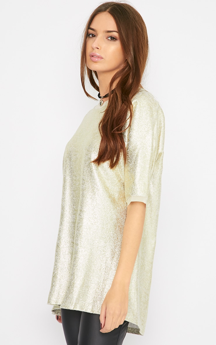 Riya Gold Oversized Jumper 3