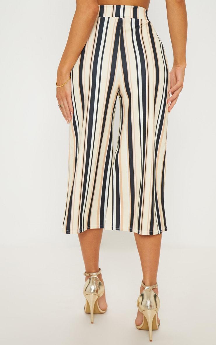Sand Stripe Tie Waist Culotte  4