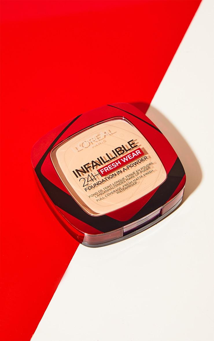L'Oreal Paris Infallible 24H Fresh Wear Foundation 120 Vanilla 3