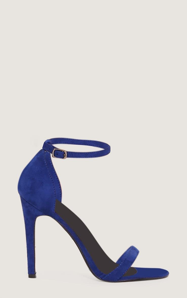 Cobalt Heeled Strappy Sandal 3