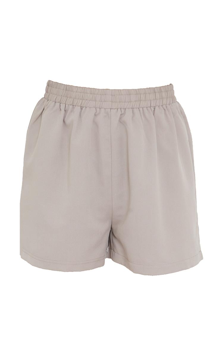 Grey Woven Runner Shorts 6