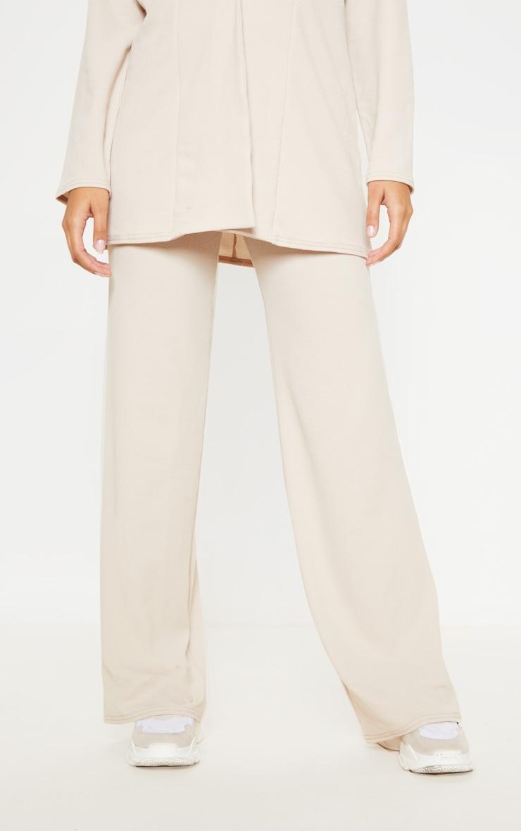 Stone Wide Leg Trouser 2