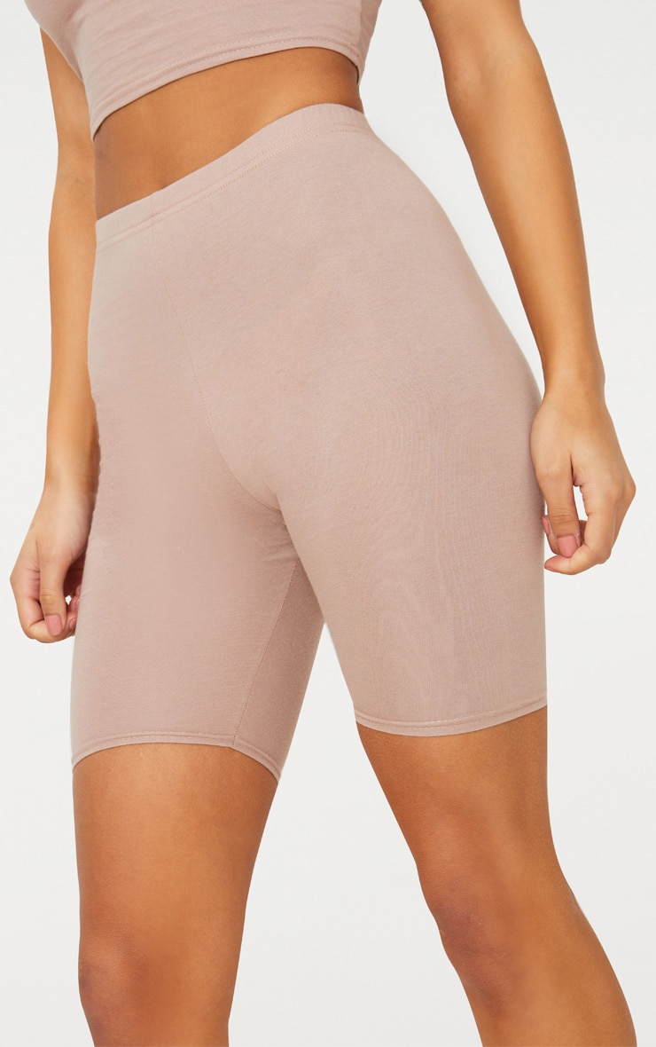 Taupe Cycling Shorts 6