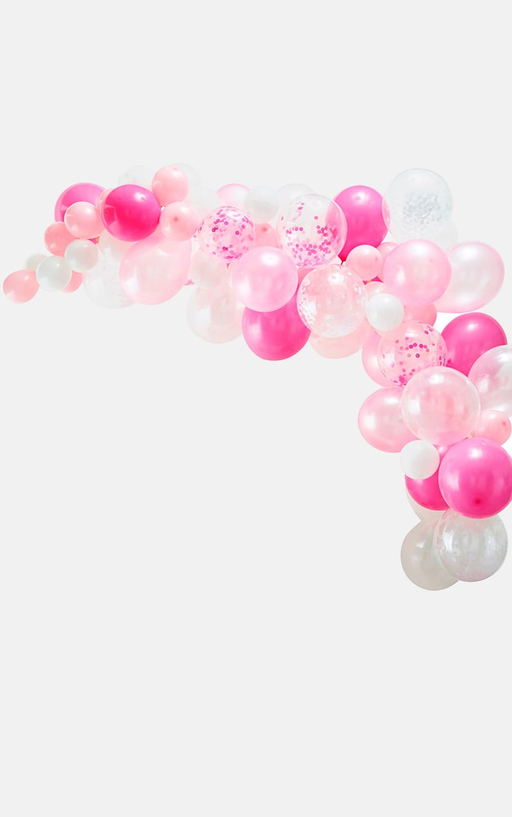 Ginger Ray Balloon Arch Pink 2
