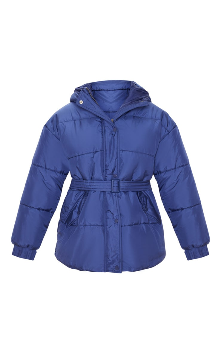 Navy Belted Puffer  3