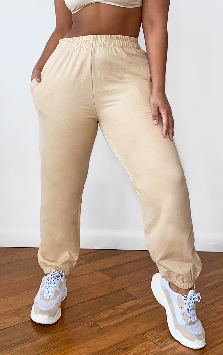 Plus Stone Casual Joggers 2