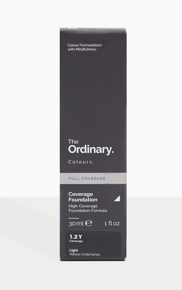The Ordinary fond de teint couvrant 1.2Y Clair 2