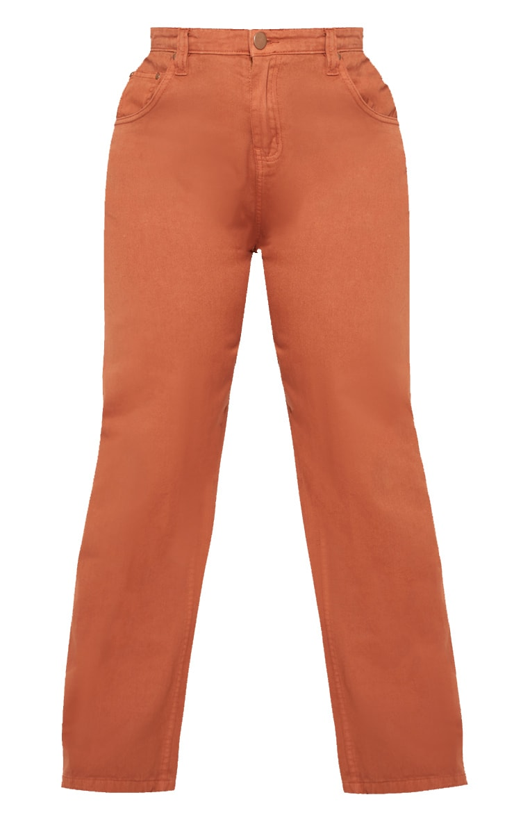 Plus Rust Extreme Wide Leg Jean 3