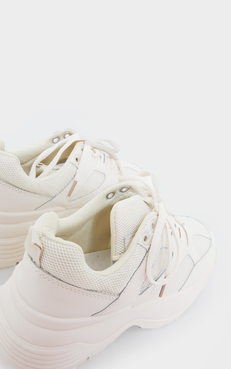 Beige Super Chunky Trainer | Shoes