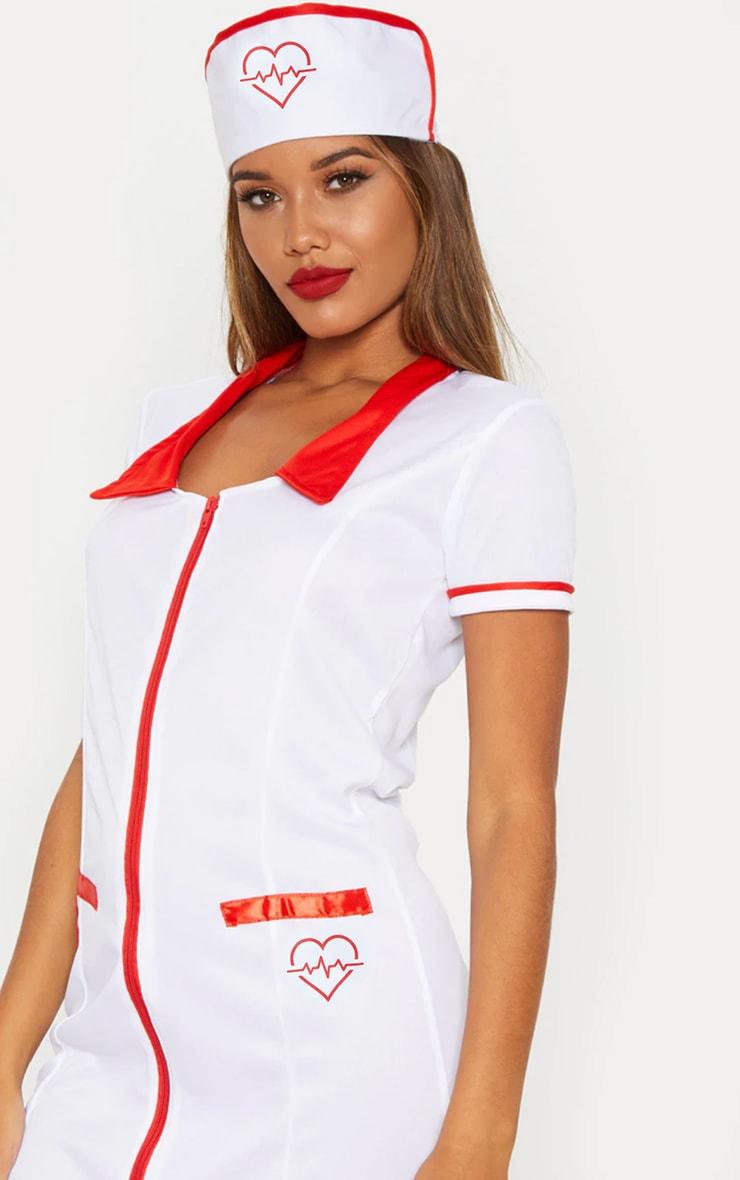 Sexy Nurse Halloween Fancy Dress Outfit 4