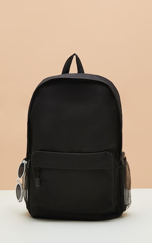 8a92a8e4bb ... PrettyLittleThing Read more I agree. Black Nylon Rucksack image 1  Black  Nylon Rucksack image 2 ...