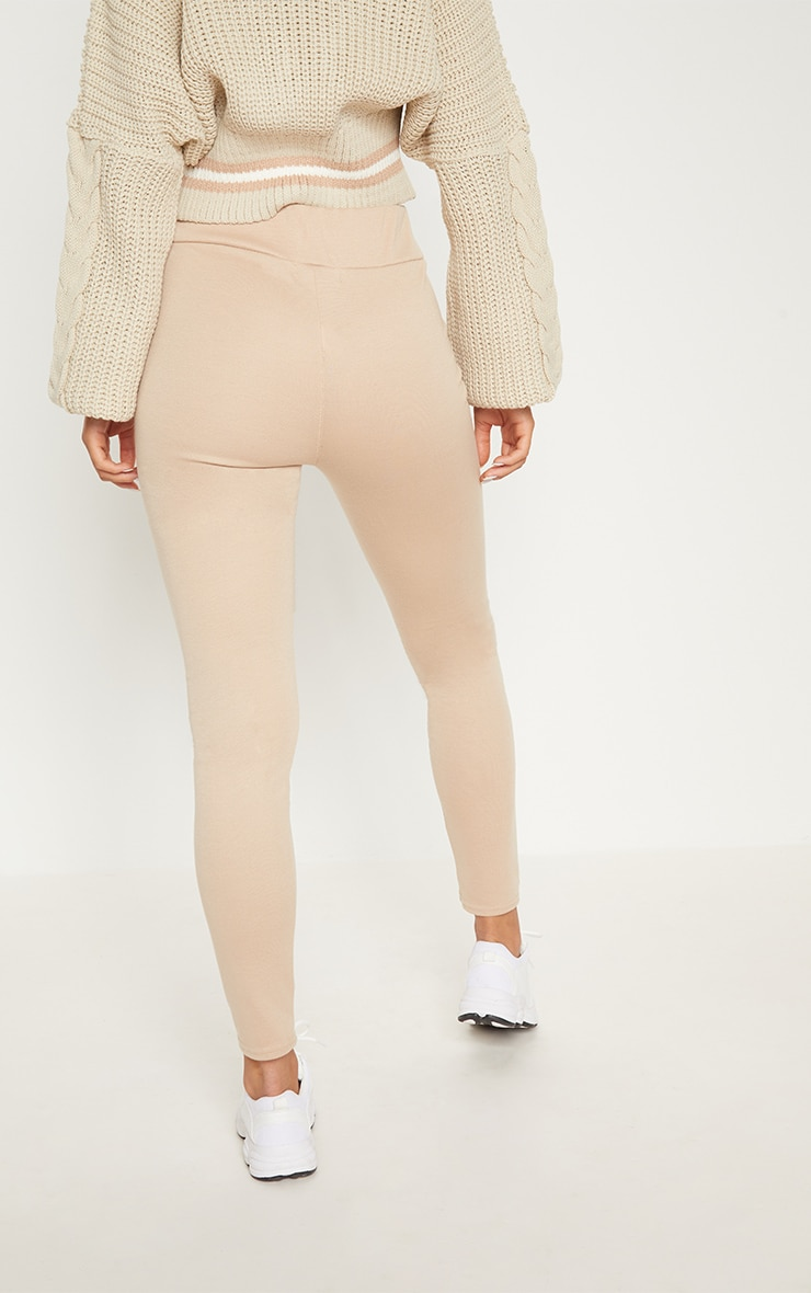 Stone Second Skin High Waisted Ponte Seamed Legging 5
