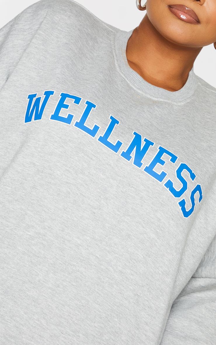 Plus Grey Wellness Sweatshirt 4