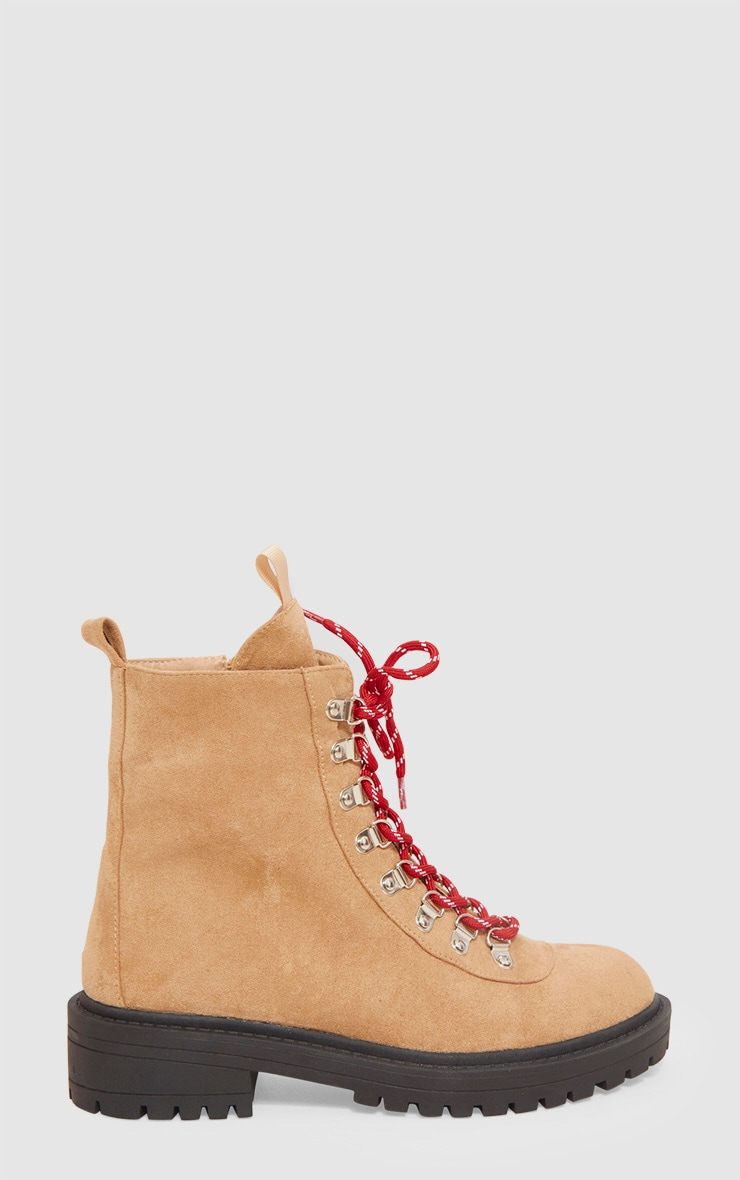 Camel Hiker Boot With Contrast Laces 3