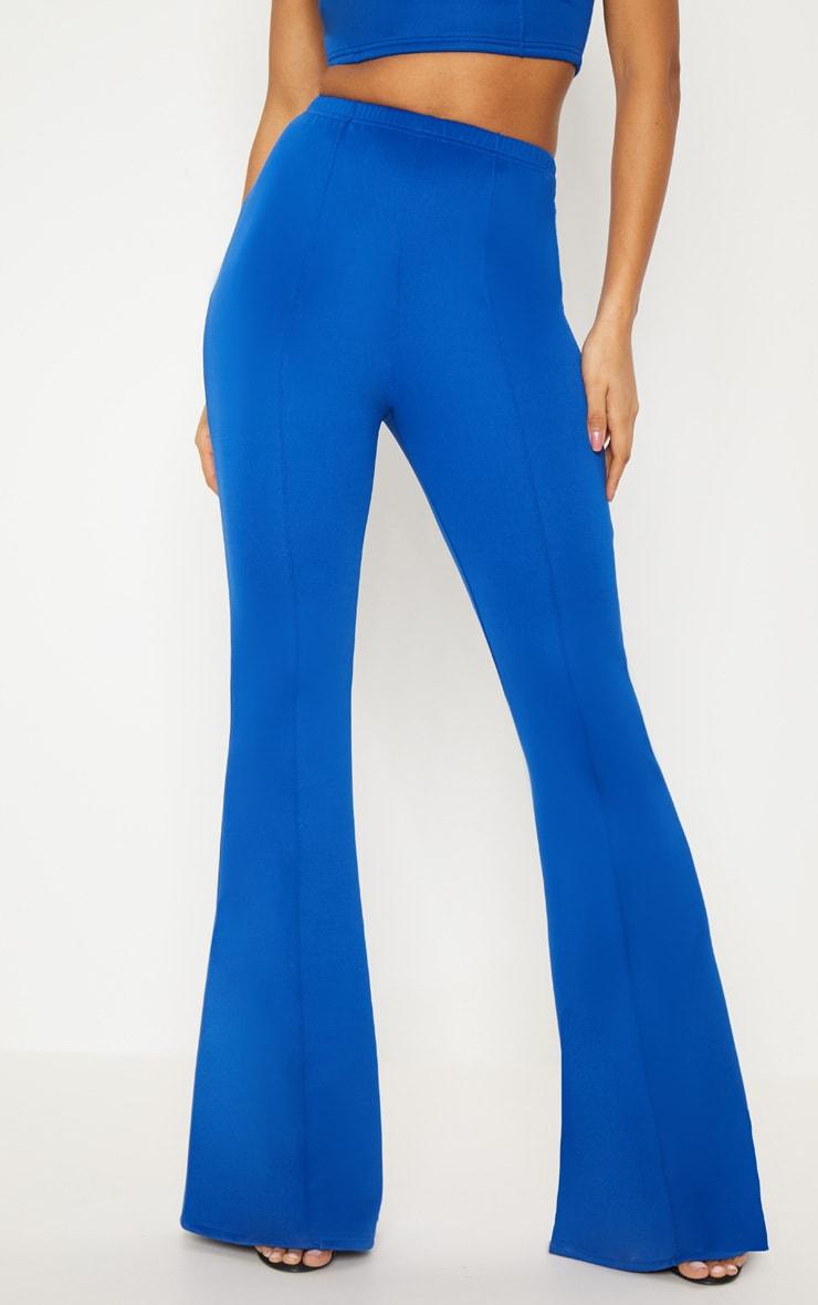 Cobalt High Waist Extreme Flare Long Leg Trouser  2