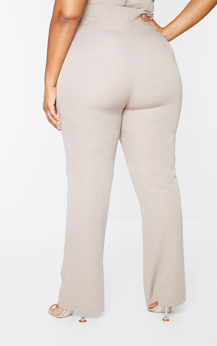 Plus Stone Woven Trousers 3