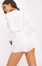 9904204d50 Lauren White Cheesecloth Playsuit image 2