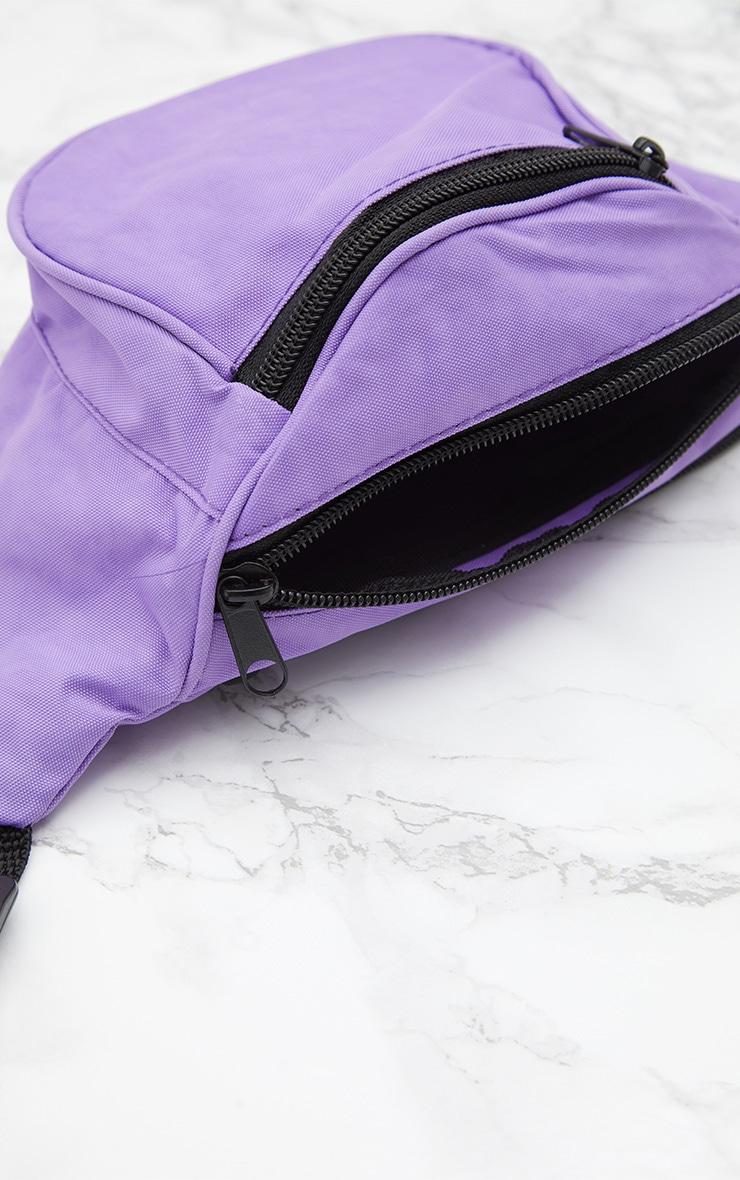 Purple Small Bum Bag 5