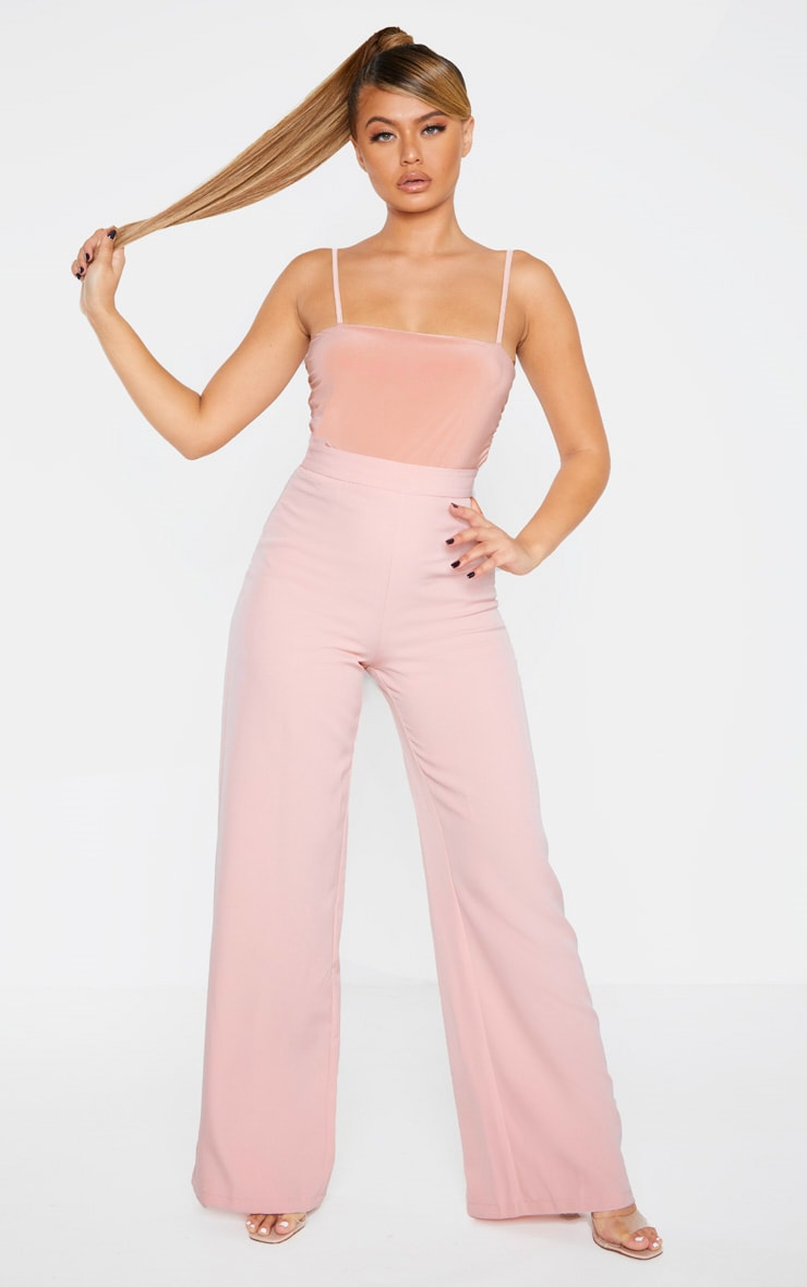 Rose Slinky Ruched Sleeveless Bodysuit 5