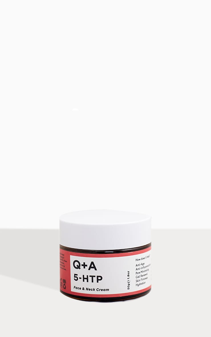 Q+A 5-HTP Face & Neck Cream 50g 3