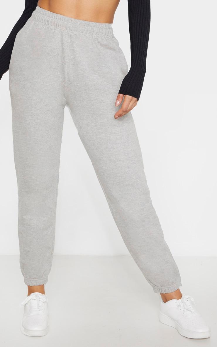 Tall Grey Marl Casual Pants 2
