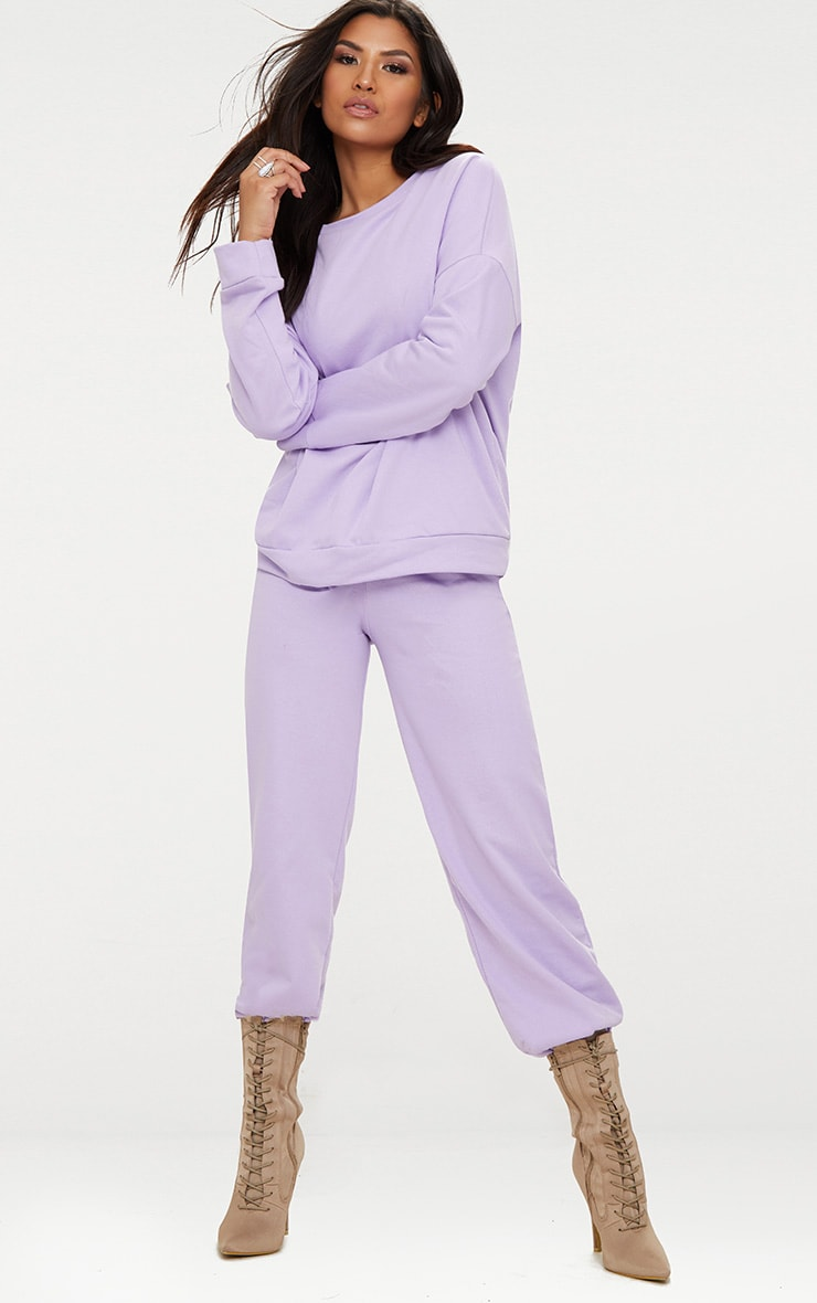 Lilac Oversized Sweater  4