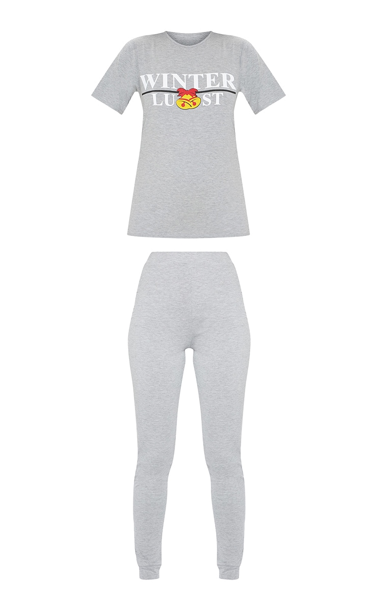 Winter-Lust Grey Pyjama Set 3