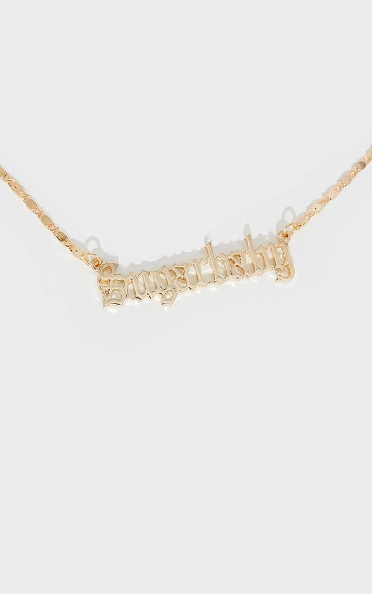 Gold Sugarbaby Necklace 3
