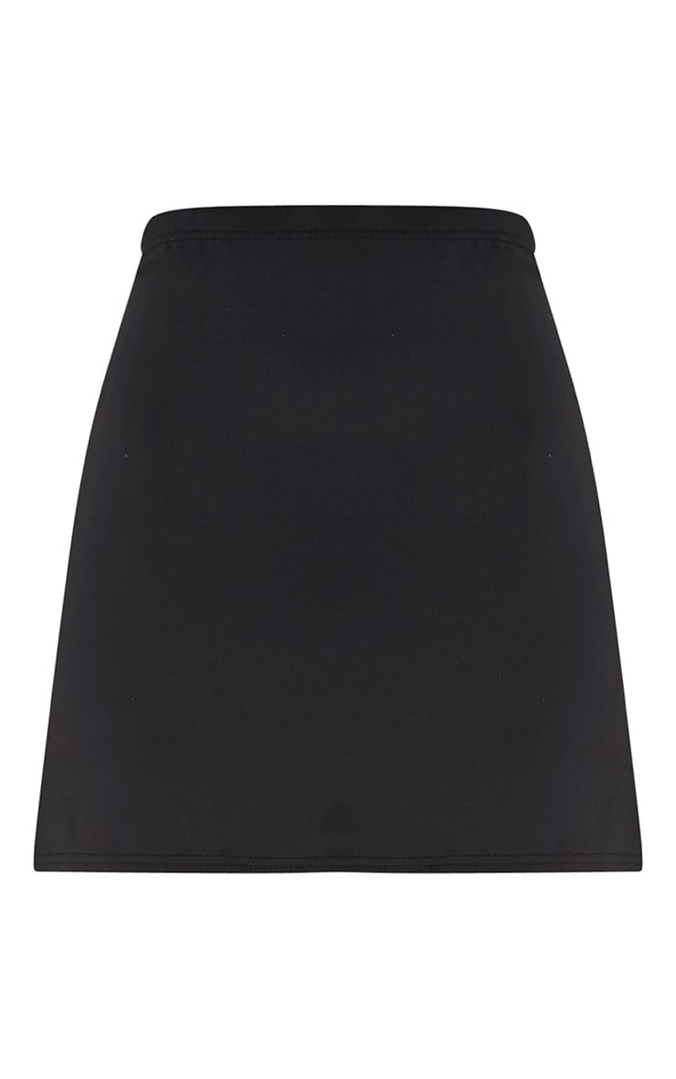 Jessica Black A-Line Mini Skirt 3