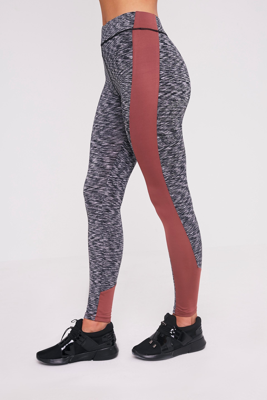 Nisha legging de sport à empiècements sur le côté couleur vison 4