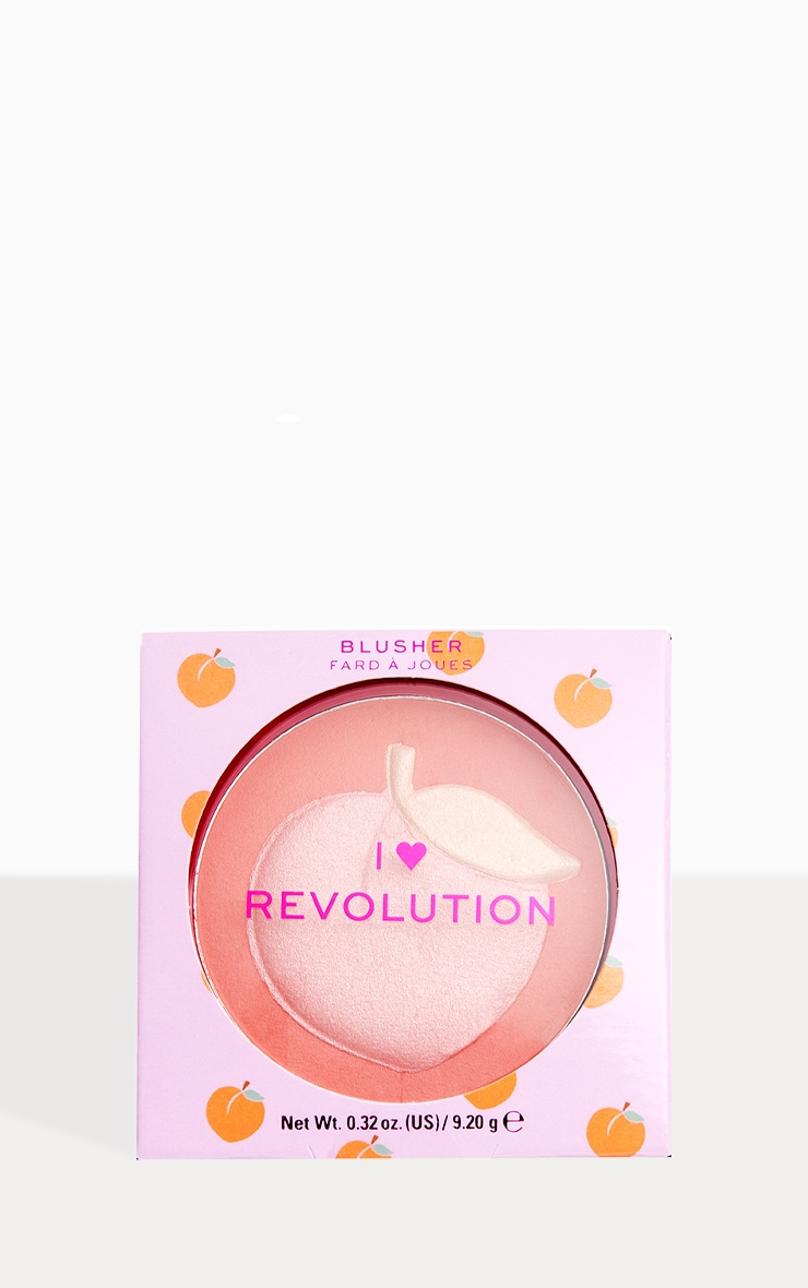 I Heart Revolution Fruity Blusher Peach 1