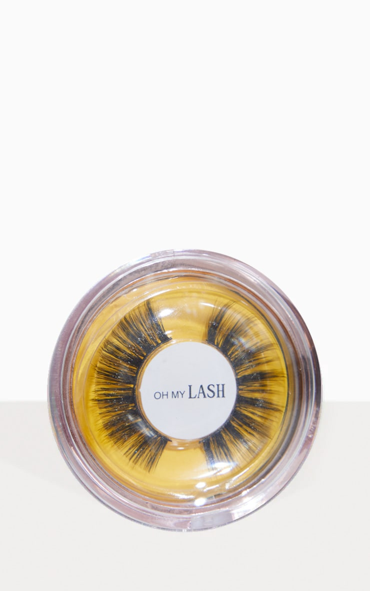Oh My Lash Faux Mink Eyelashes Girl Code 1
