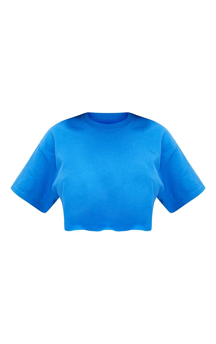 Cobalt Ultimate Crop T Shirt 5