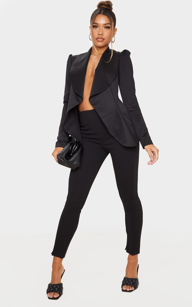 Black Waterfall Blazer 3