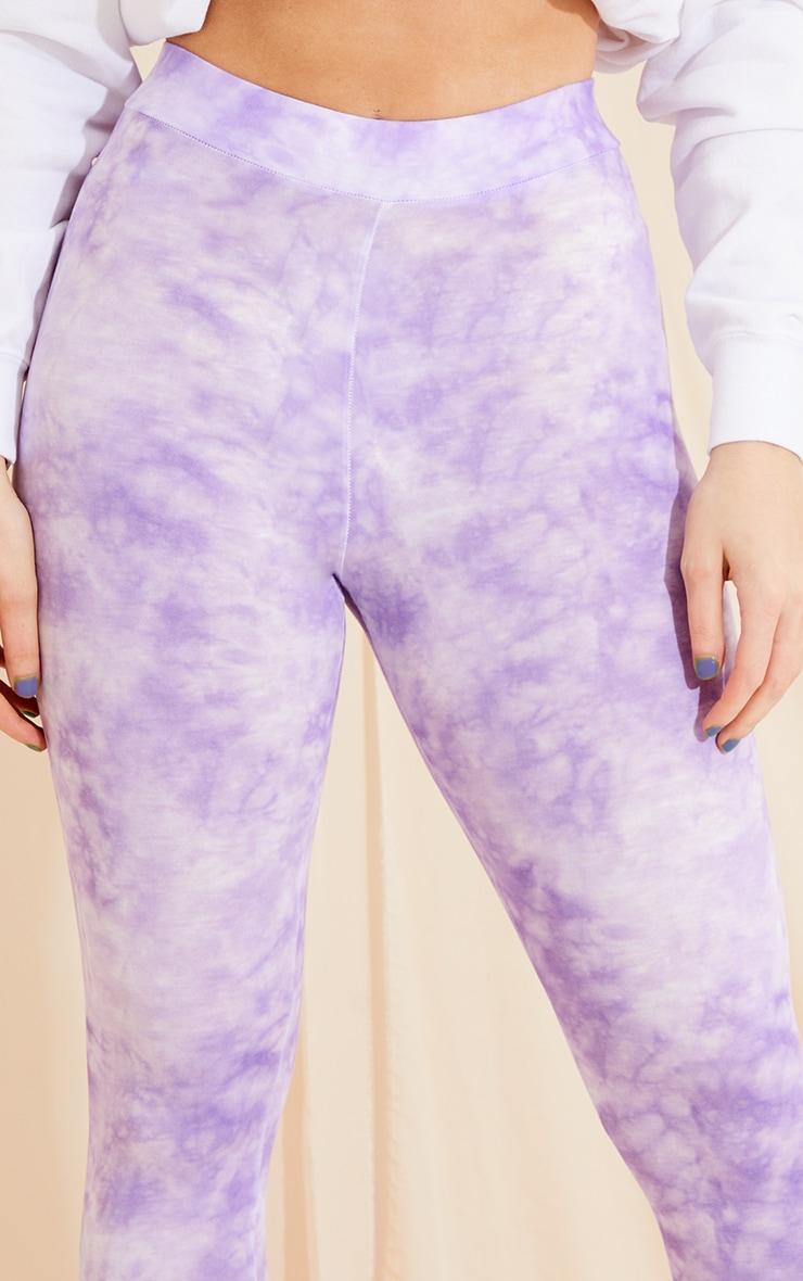 Purple Tie Dye Leggings 4