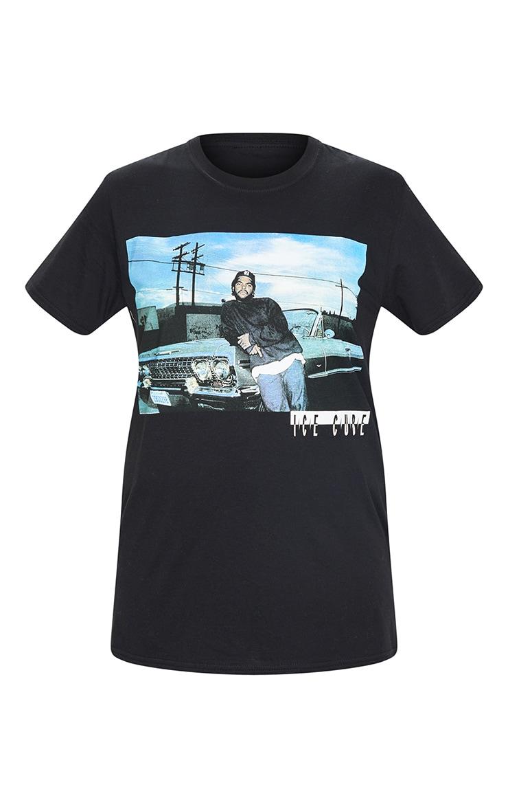 Black Ice Cube Photographic Print T Shirt 5